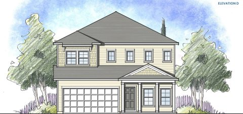 Dream Finders Home Driftwood Elevation  D at Tributary