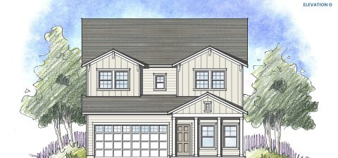 Dream Finders Home Driftwood Elevation G at Tributary