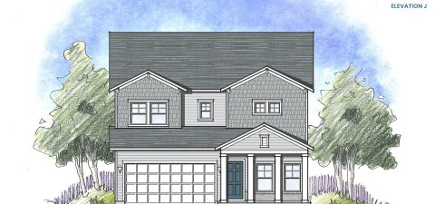 Dream Finders Home Driftwood Elevation J at Tributary