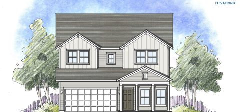 Dream Finders Home Driftwood Elevation K at Tributary