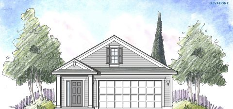 Dream Finders Home Ortega Elevation E at Tributary