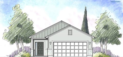 Dream Finders Home Ortega Elevation I at Tributary