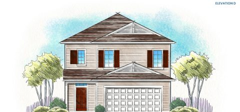 Dream Finders Home Stockton Elevation D at Tributary