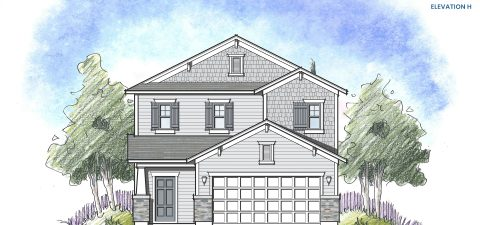Dream Finders Home Stockton Elevation H at Tributary