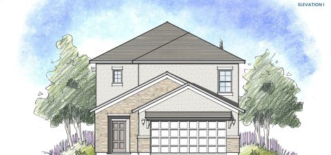 Dream Finders Home Stockton Elevation I at Tributary