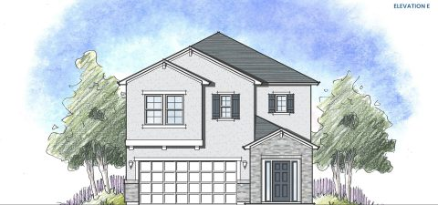 Dream Finders Home Vilano Elevation E at Tributary