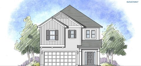 Dream Finders Home Vilano Elevation F at Tributary