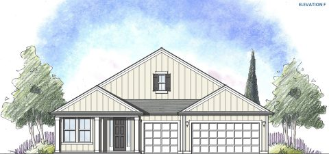 Dream Finders Home Boca Elevation  F at Tributary