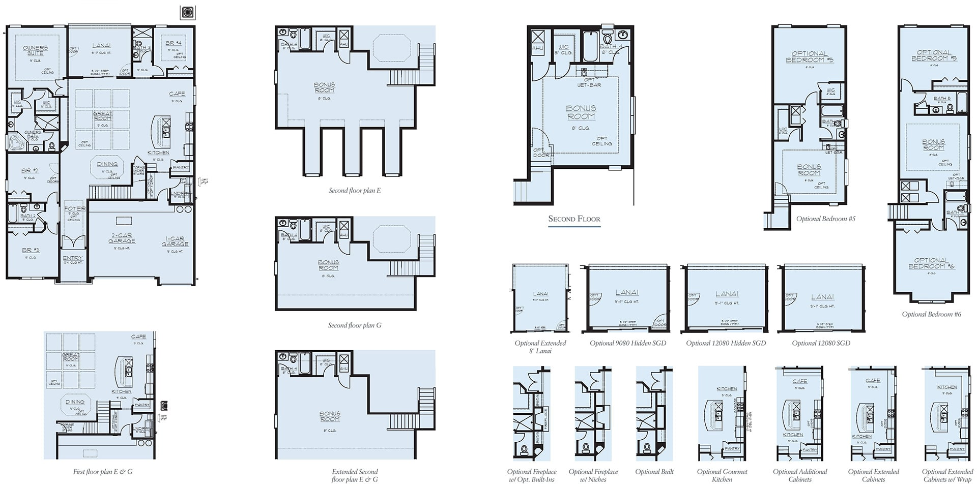 Dream Finders Home Floorplan Avalon II at Tributary