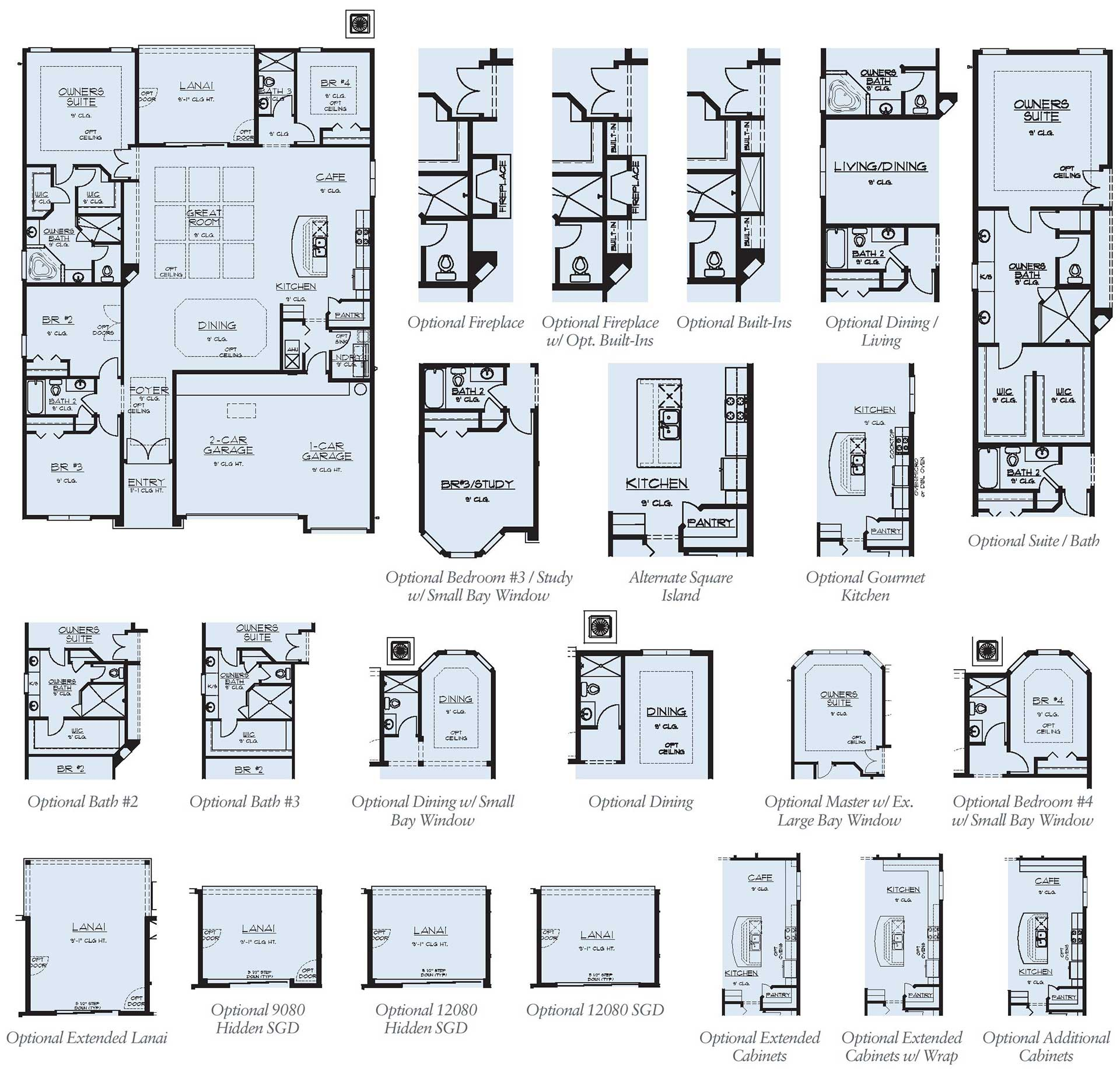 Dream finder homes floorplan avalon I at Tributary