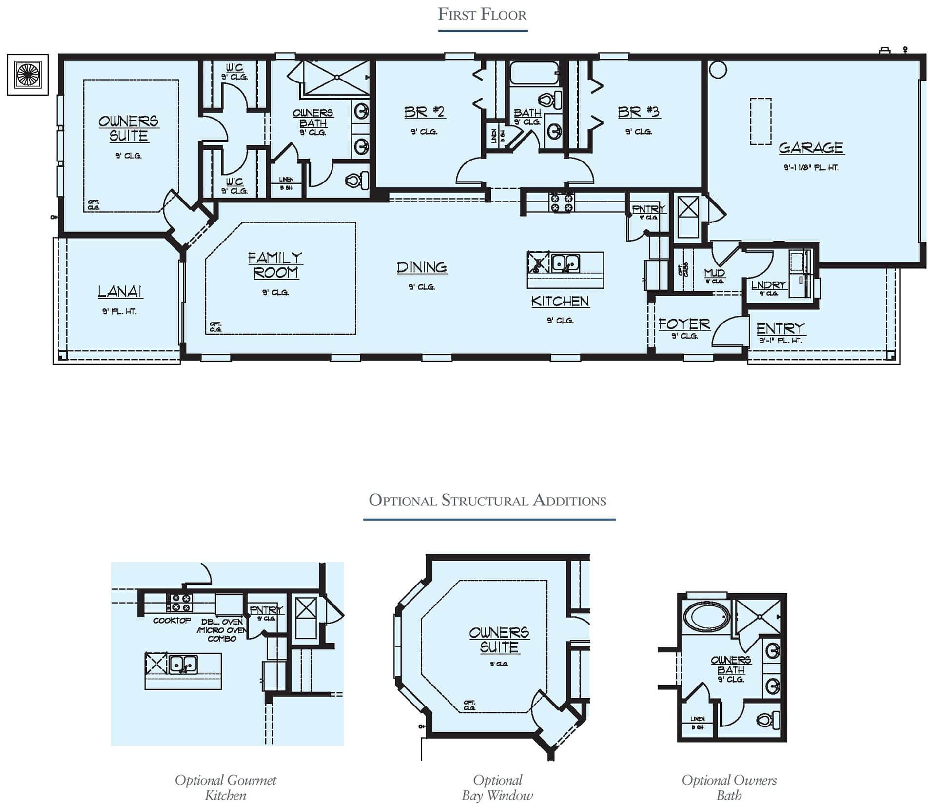 Dream Finders Home Floorplan Avondale Floorplan at Tributary
