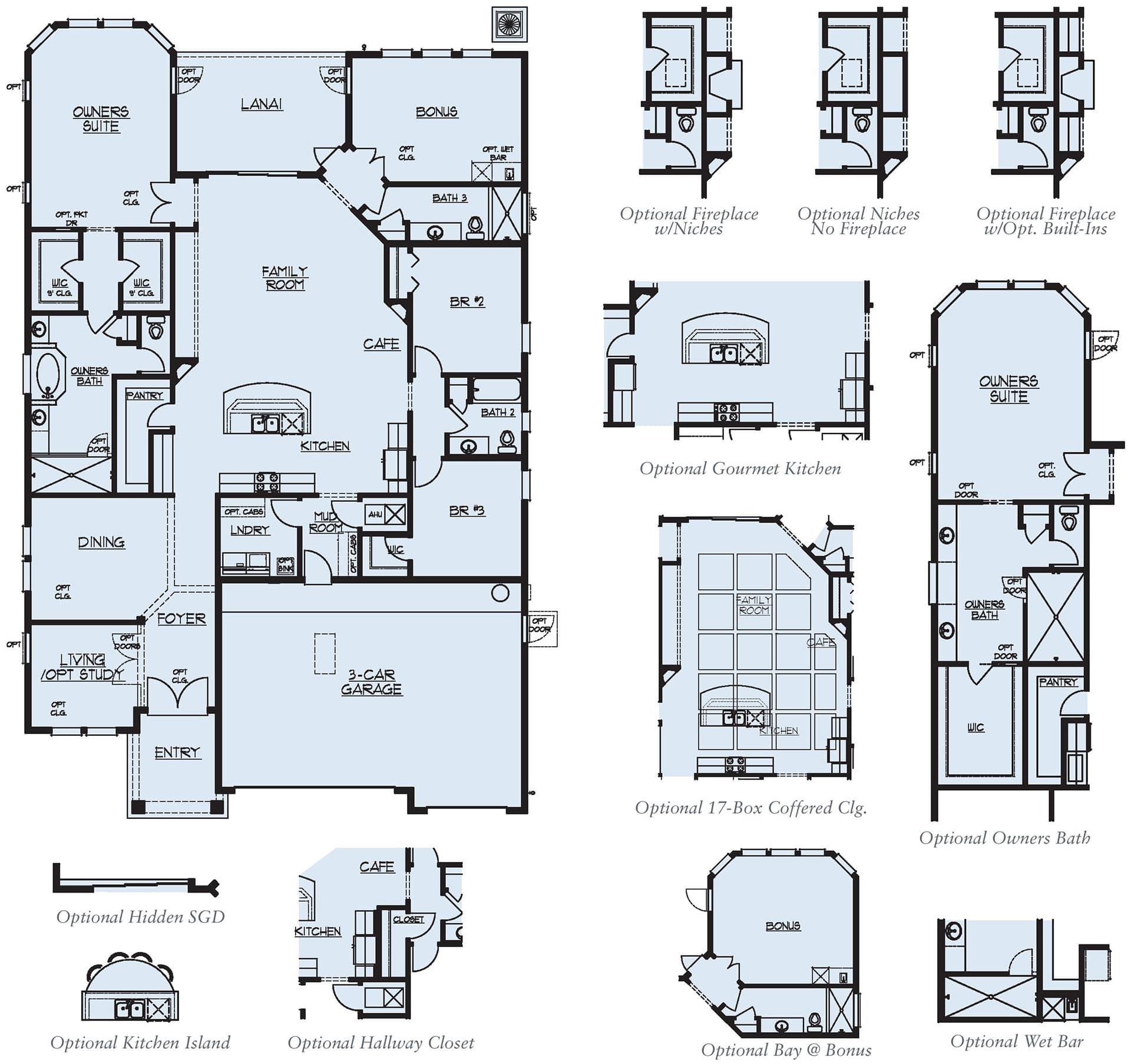 Dream Finders Home Boca I Floorplan at Tributary