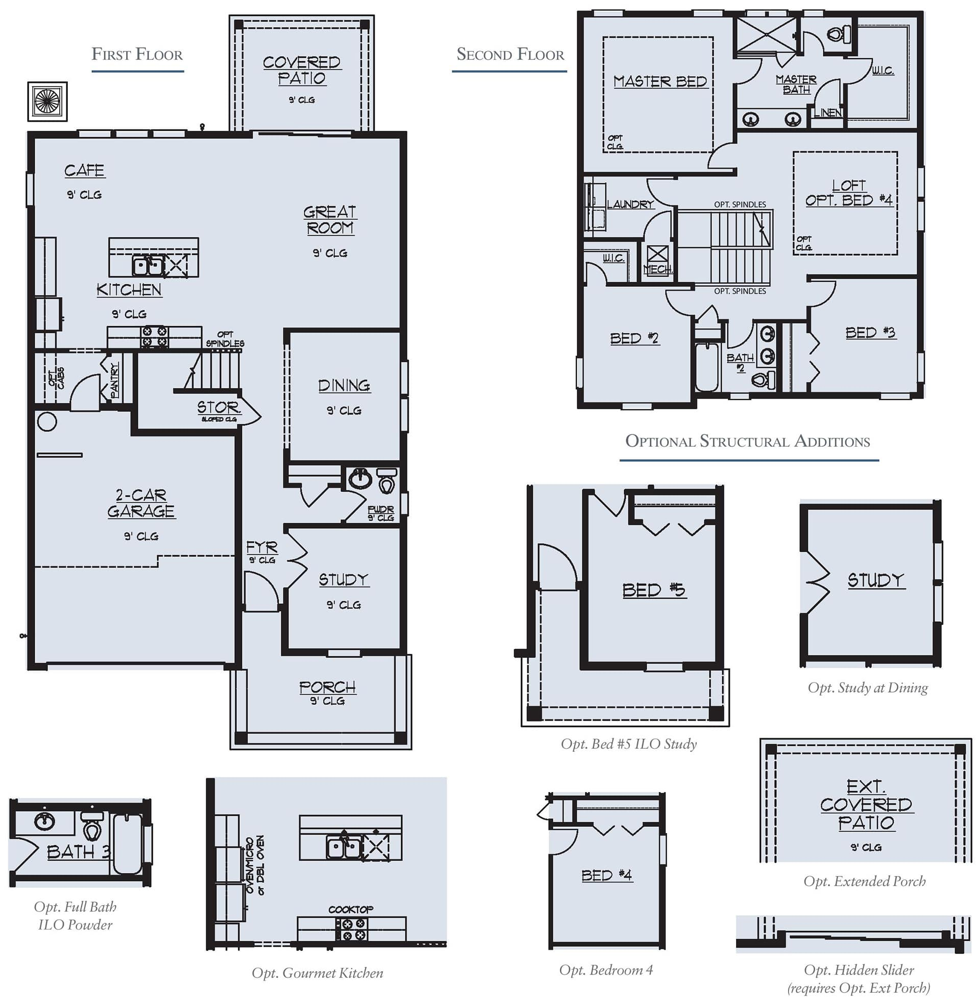 Dream Finders Home Driftwood Floorplan at Tributary