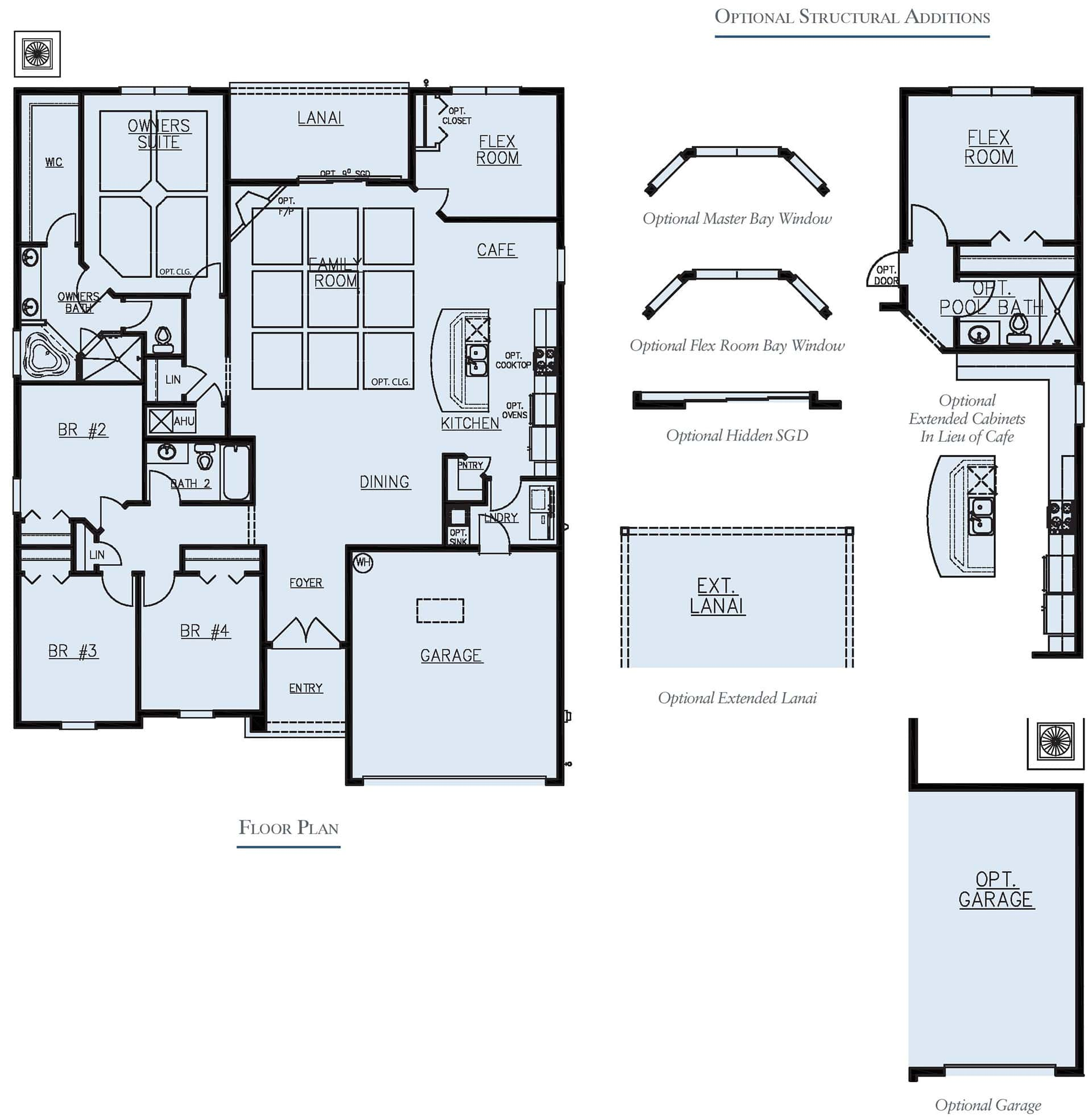 Dream Finders Home Fleming II Floorplan at Tributary