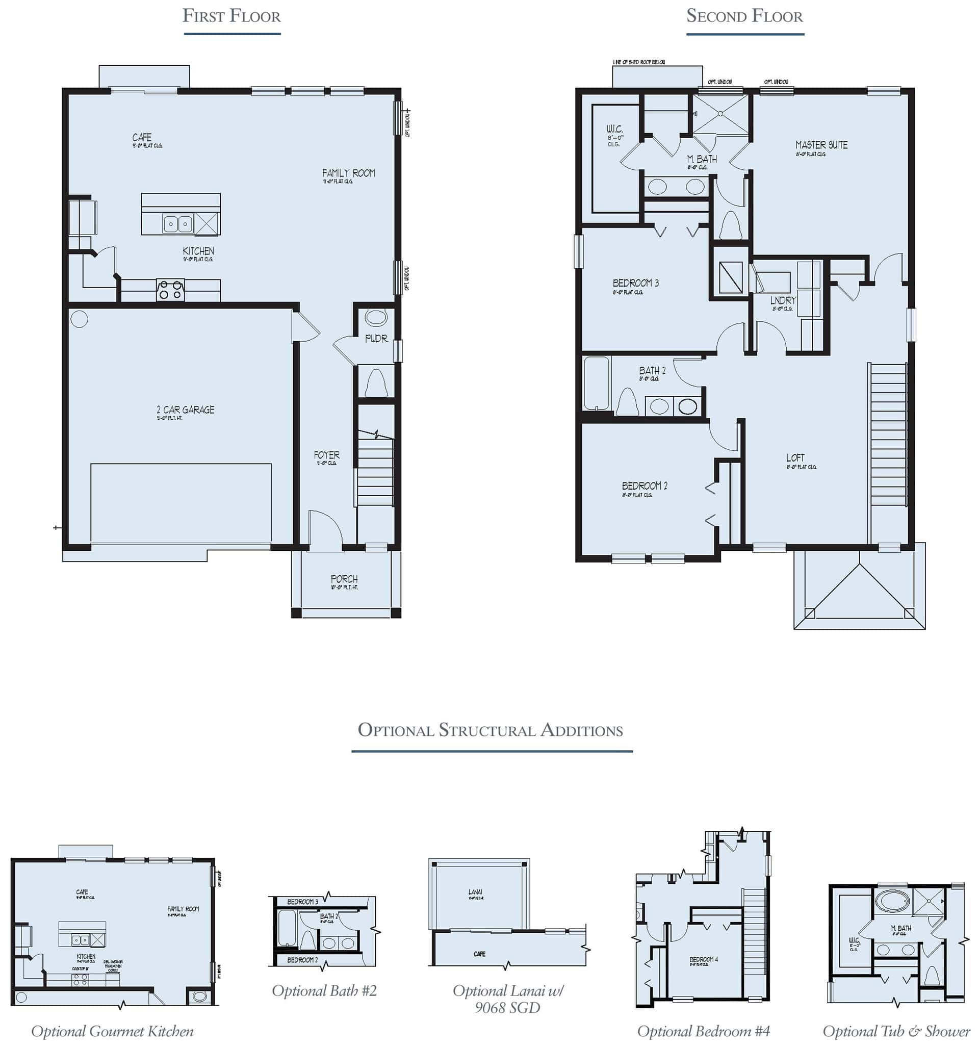 Dream Finders Home Nassau Floorplan at Tributary