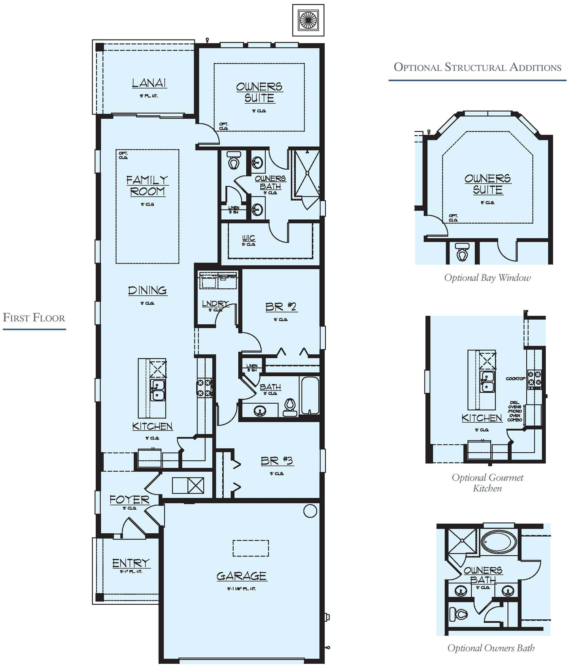 Dream Finders Home Ortega Floorplan at Tributary