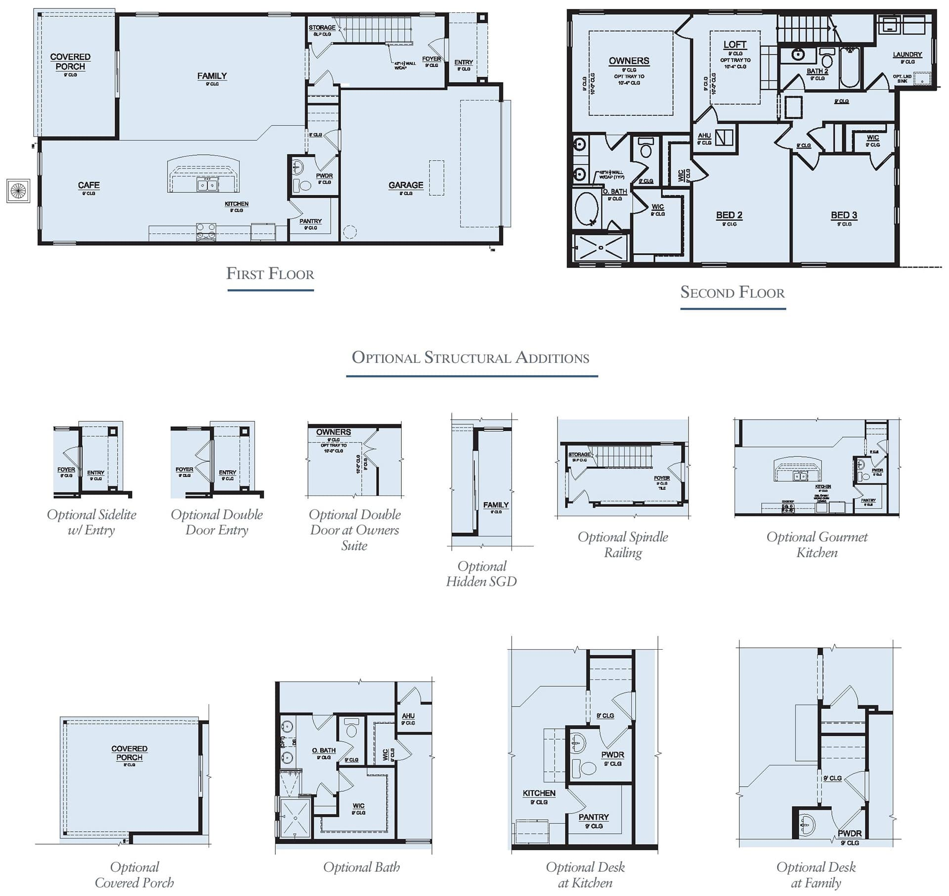 Dream Finders Home Timuquana Floorplan at Tributary