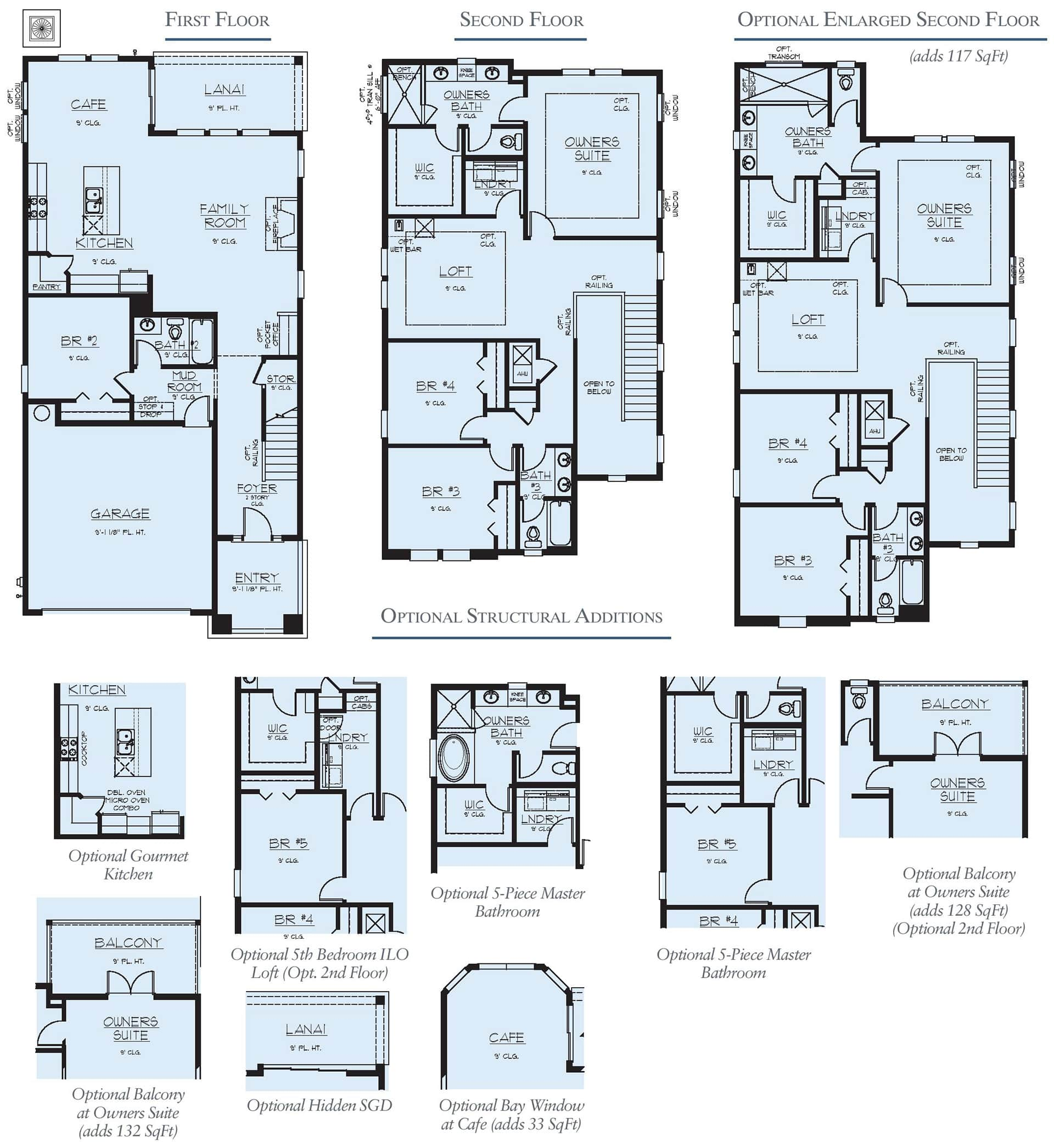 Dream Finders Home Vilano Floorplan at Tributary