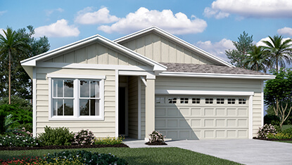 Richmond Home Larimar Elevation K at Tributary