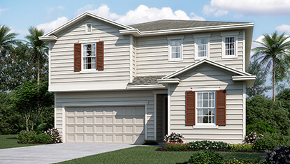 Richmond Home Moonstone Elevation K at Tributary