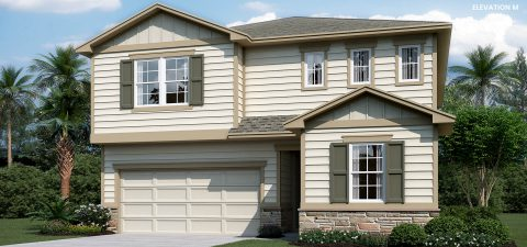 Richmond Home Moonstone Elevation M at Tributary
