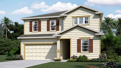 Richmond Home Pearl Elevation K at Tributary