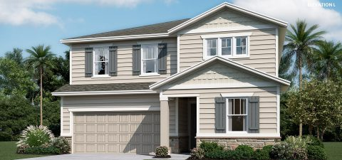 Richmond Home Pearl Elevation L at Tributary