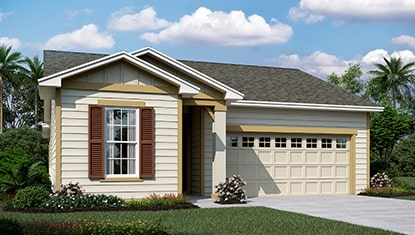 Richmond Home Sapphire Elevation K at Tributary