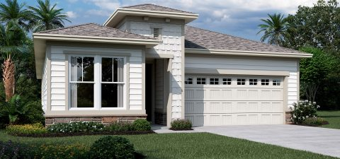 Richmond Home Sapphire Elevation M at Tributary