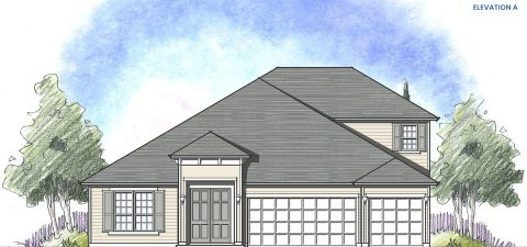 Dream Finders Home Avalon II Elevation A