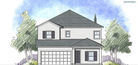 Dream Finders Home Driftwood Elevation A
