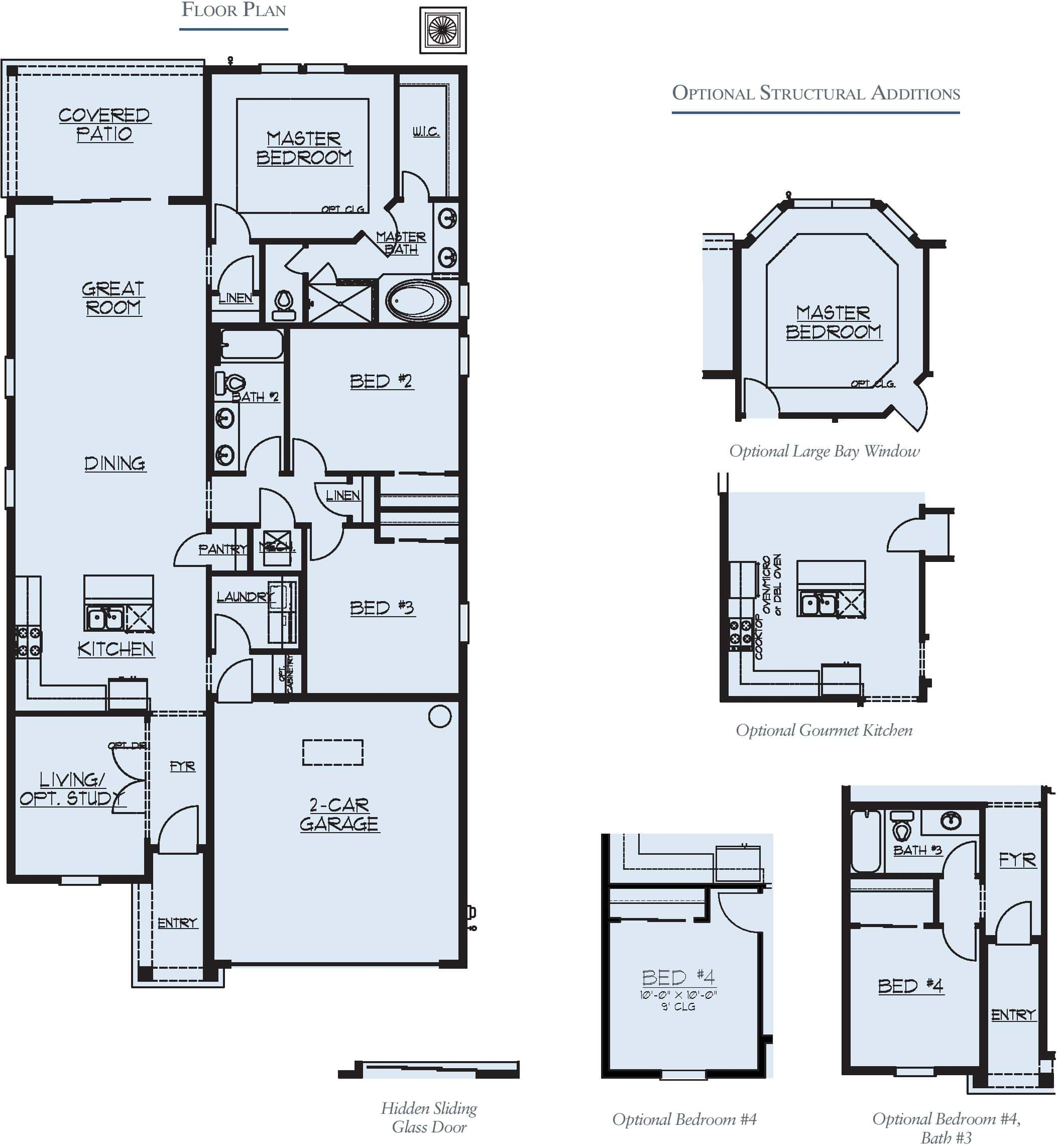 Dream Finders Sweetwater Model Floorplan