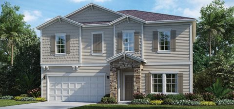 Lennar Home Brio Elevation HA at Tributary