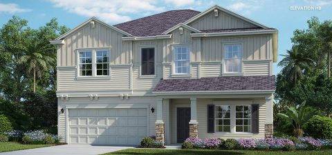 Lennar Home Brio Elevation HB at Tributary