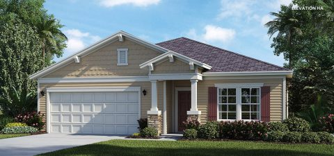 Lennar Home Charle Elevation HA at Tributary