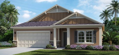 Lennar Home Charle Elevation HB at Tributary