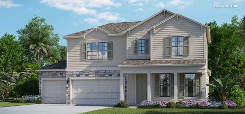 Lennar Home Ermont III Elevation HB at Tributary