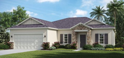 Lennar Home Serenata Elevation HA at Tributary