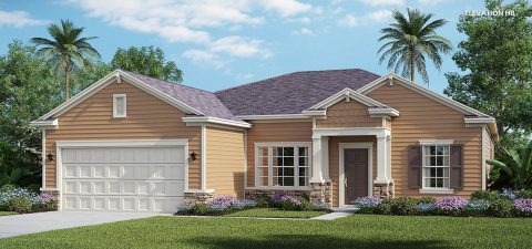 Lennar Home Serenata Elevation HB at Tributary