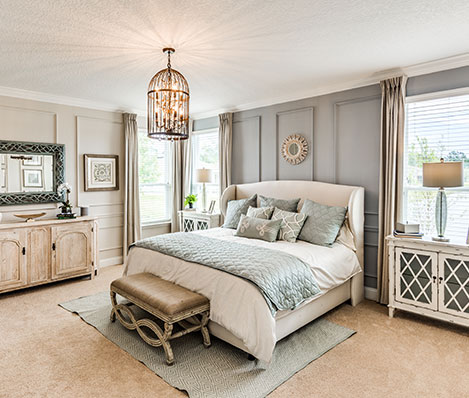Lakeview Tributary Master Bedroom