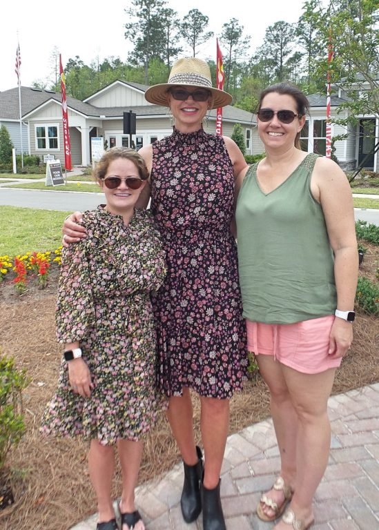 gaynelle james and two woman smiling at Tributary Realtor Event