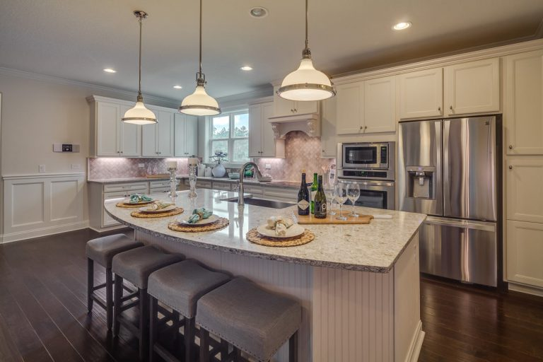 dream finders avalon ii kitchen at tributary