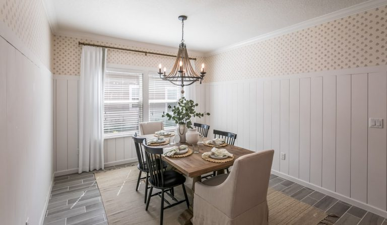 lennar tivoli furnished dining room at tributary