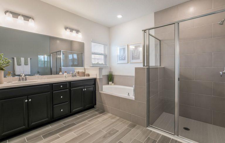 lennar tivoli furnished bathroom at tributary