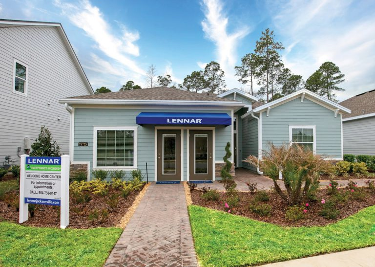 lennar trevi exterior at Tributary