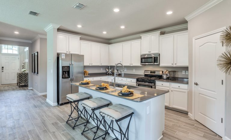 lennar trevi kitchen at Tributary
