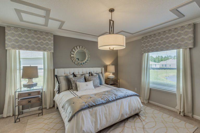 lennar trevi furnished bedroom at Tributary