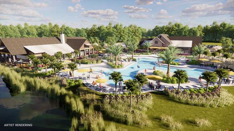 large amenity center coming to tributary