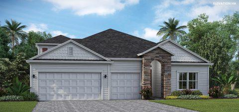 Lennar Homes Medallion Bonus Elevation HA - Lakeview
