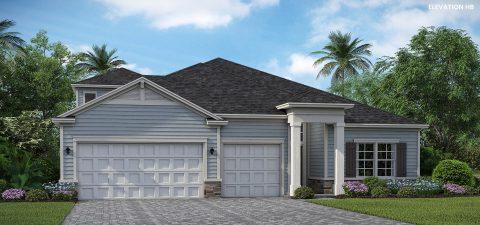 Lennar Homes Medallion Bonus Elevation HB - Lakeview